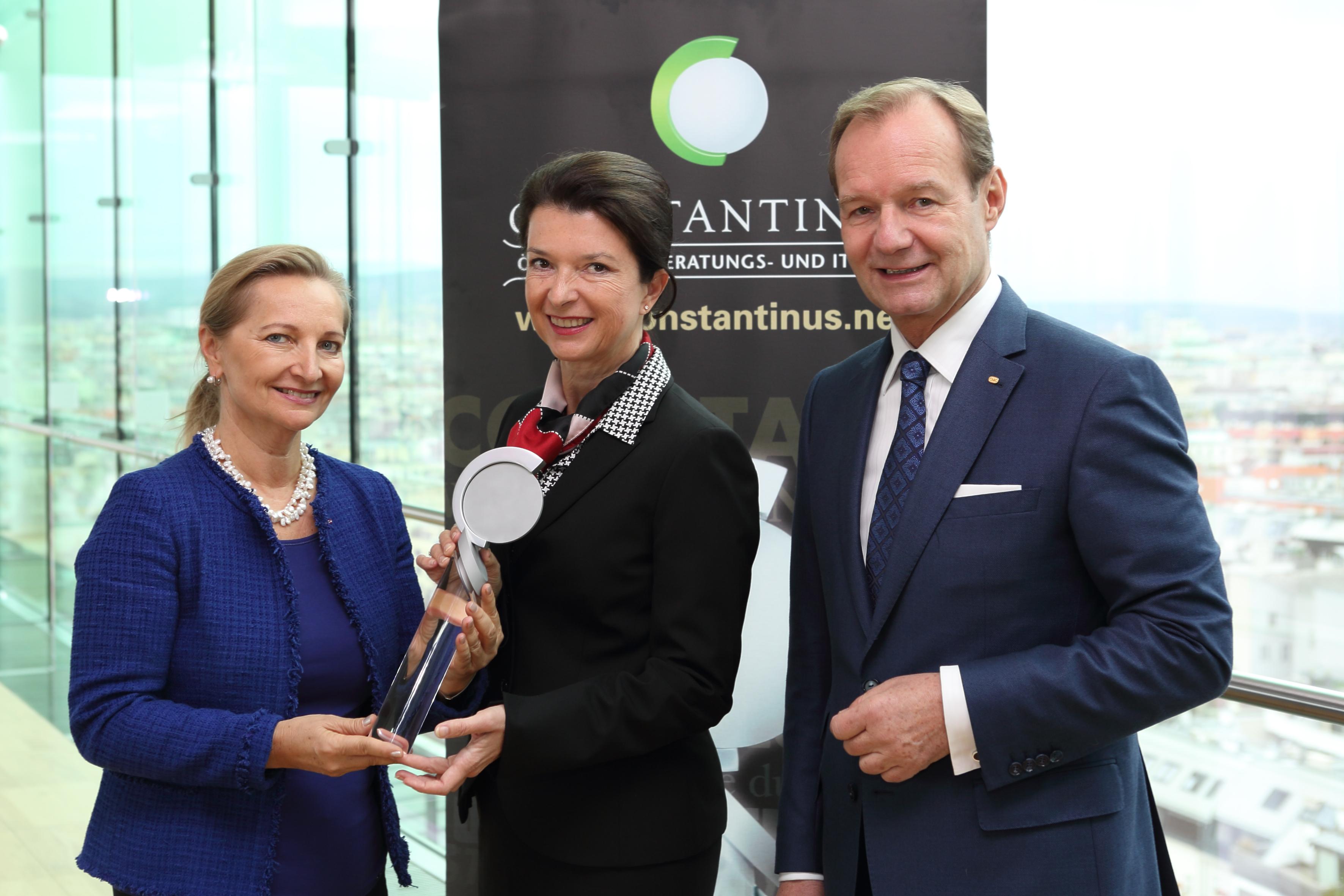 Constantinus Ehrenpräsidentin 2018