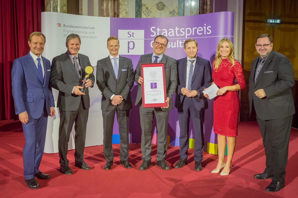 Sieger Staatspreis Consulting 2018