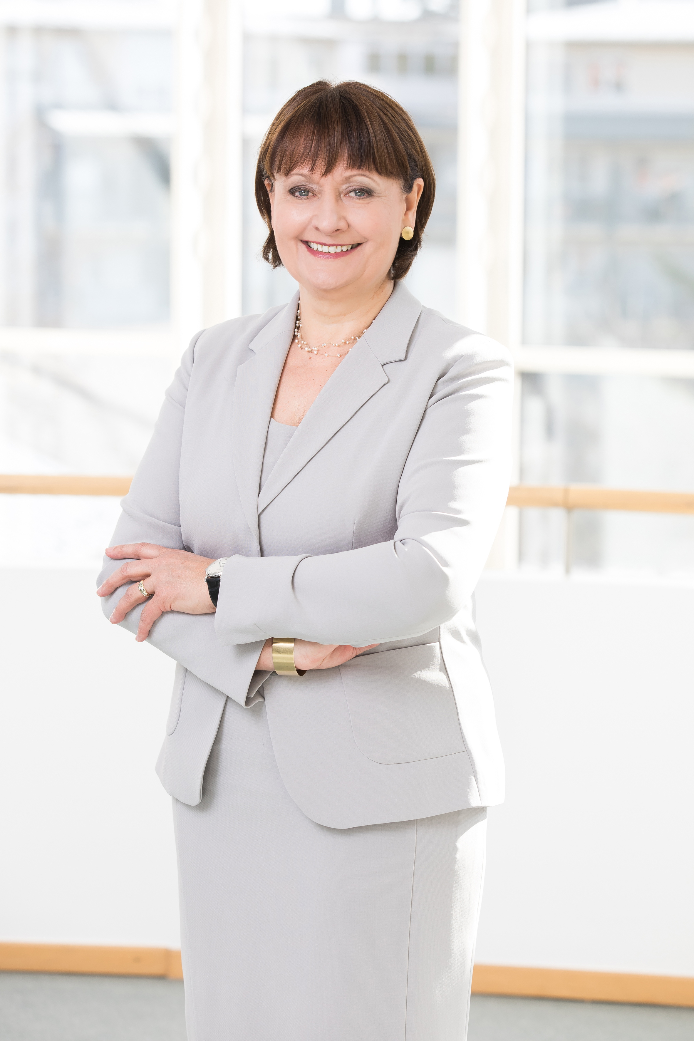 Herta Stockbauer ist Constantinus-Ehrenpräsidentin 2019
