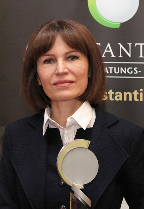 Birgit Kuras ist Constantinus-Ehrenpräsidentin 2014