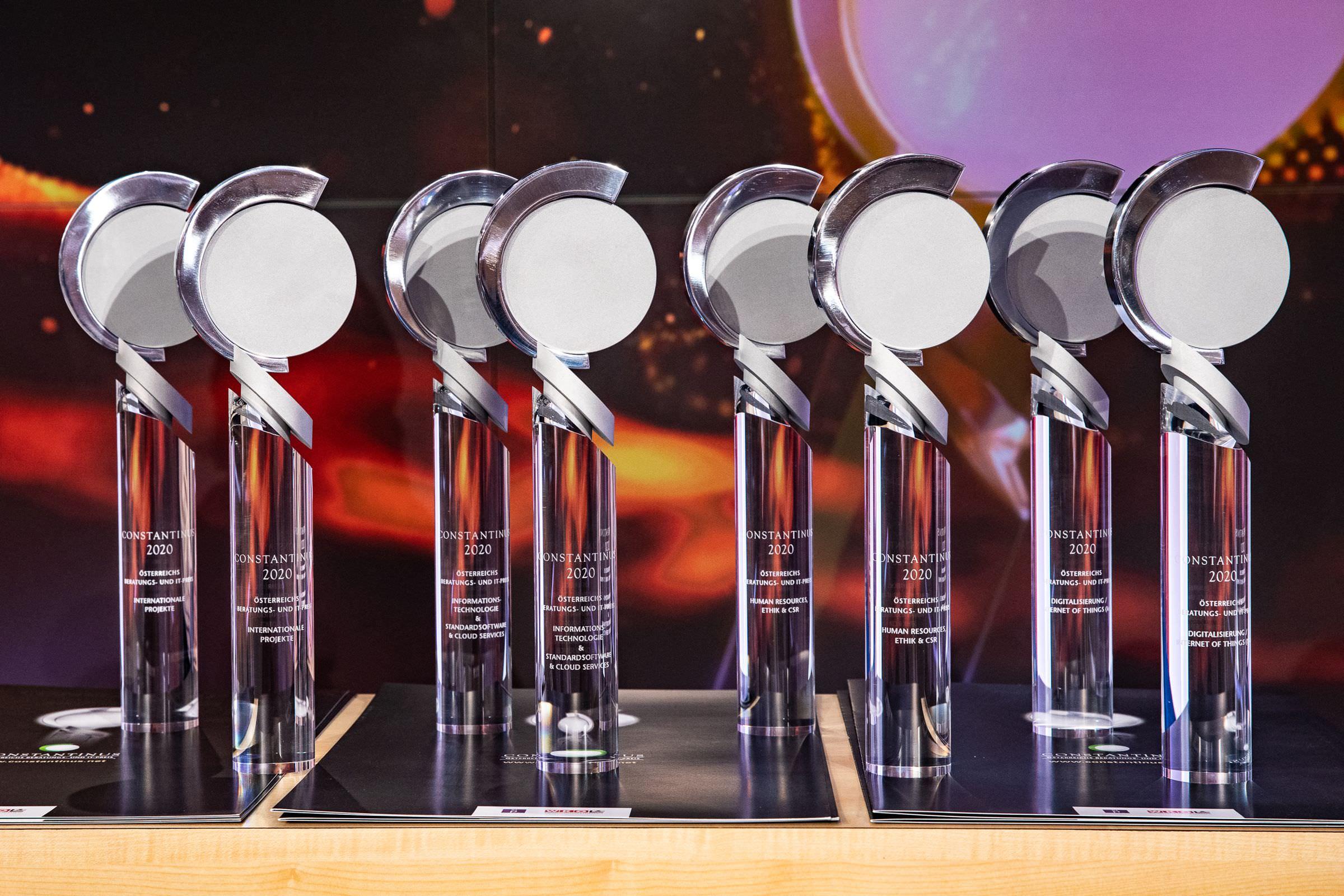 Constantinus Awards - Trophäen