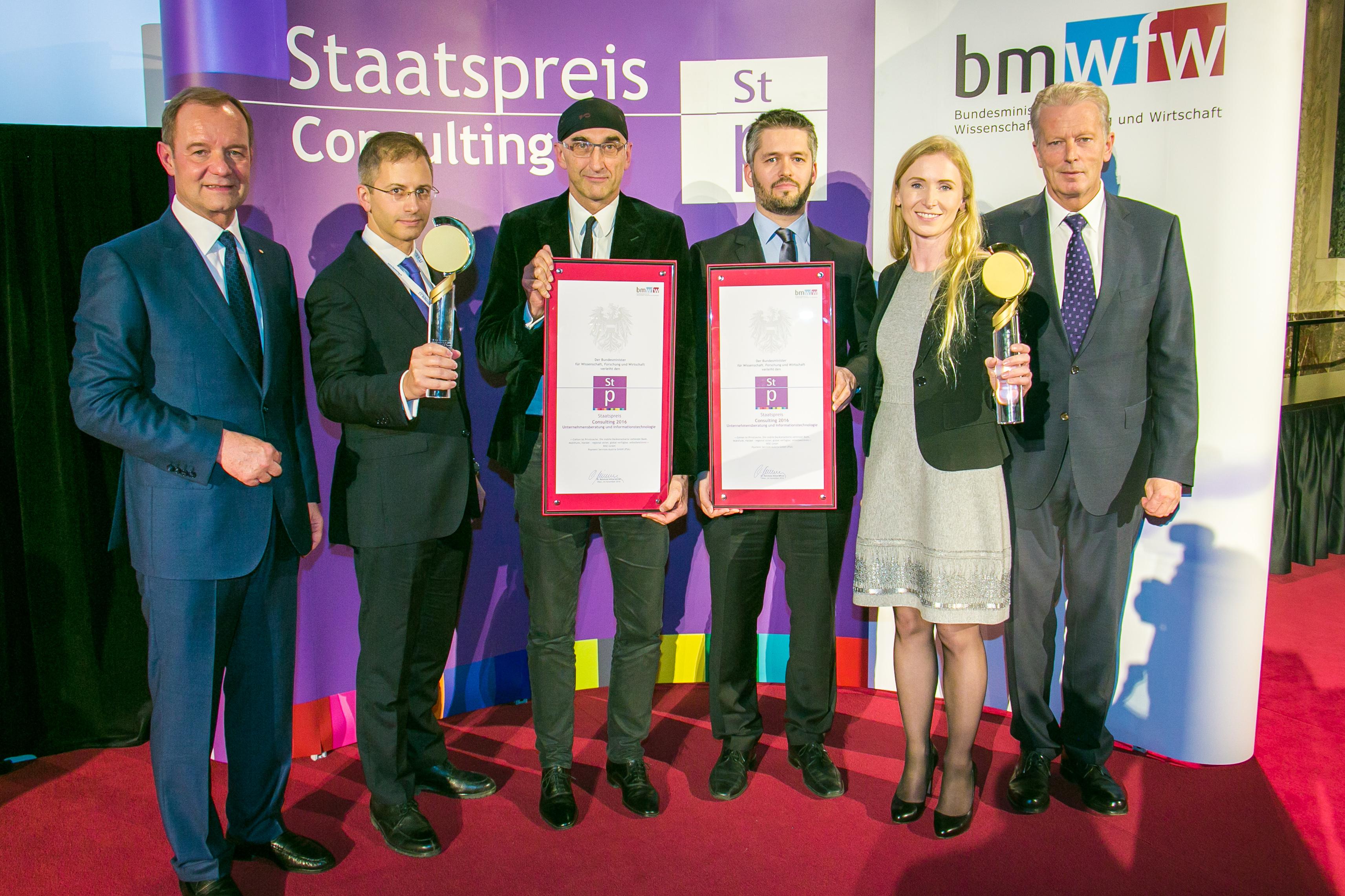 RISE gewinnt Staatspreis Consulting 2016