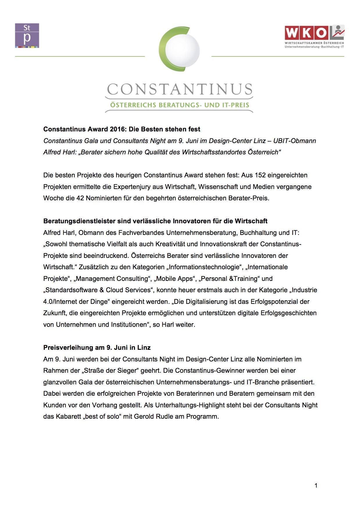Constantinus 2016 Juryende