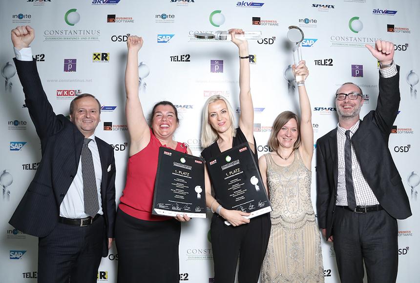 Die Sieger des Projekte Film ab...! - Lehrlinge und die Unternehmenswerte
